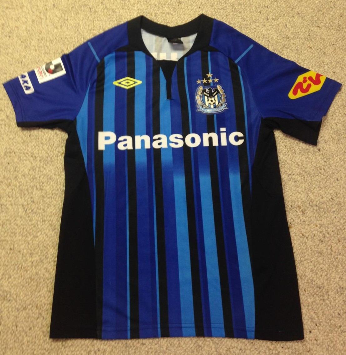 Gamba Osaka Home Football Shirt 2013 2014
