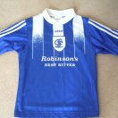 Stockport County baju bolasepak 1996 - 1997