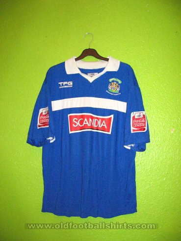 Stockport County Home baju bolasepak 2006 - 2007
