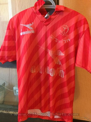 Hapoel Tel-Aviv Home football shirt 1994 - 1995