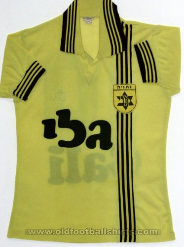 Maccabi Netanya Home football shirt (unknown year)