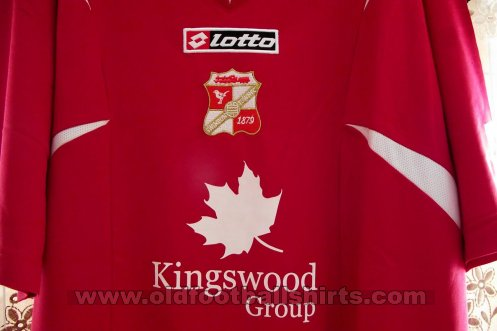 Swindon Town Thuis  voetbalshirt  2007 - 2008