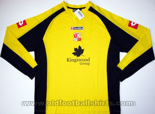 Swindon Town Goalkeeper - CLASSIC for sale football shirt 2007 - 2008