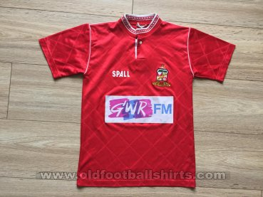 Swindon Town Home football shirt 1989 - 1991