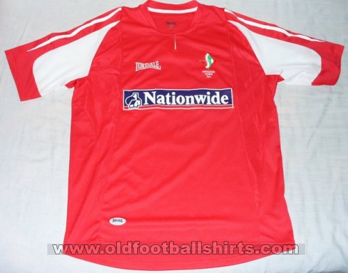 Swindon Town Domicile Maillot de foot 2005 - 2006