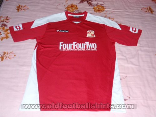 Swindon Town Home football shirt 2008 - 2009