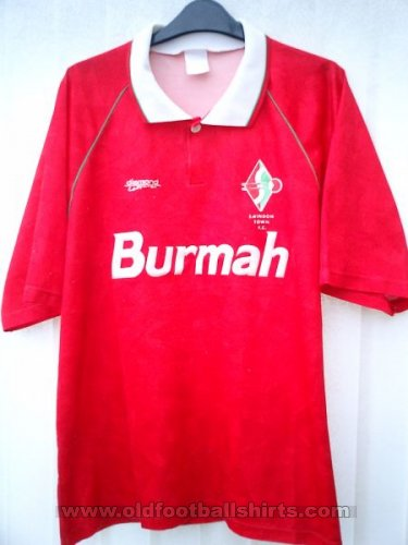 Swindon Town Domicile Maillot de foot 1992 - 1993