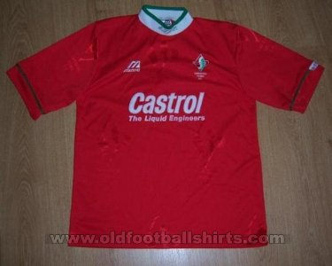 Swindon Town Home baju bolasepak 1995 - 1997