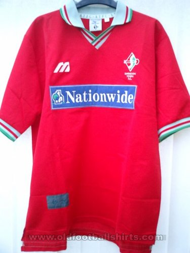 Swindon Town Home Maillot de foot 1997 - 1999