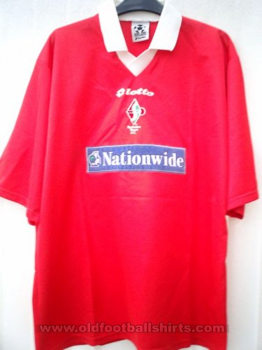 Swindon Town Home baju bolasepak 1999 - 2000