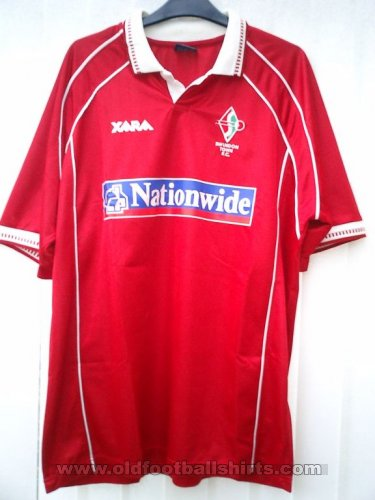 Swindon Town Local Camiseta de Fútbol 2000 - 2001
