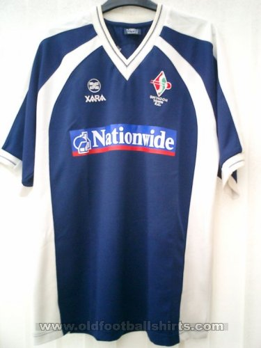 Swindon Town Away baju bolasepak 2001 - 2003