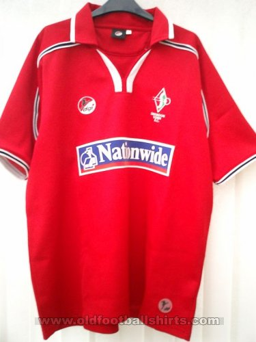 Swindon Town Domicile Maillot de foot 2002 - 2003