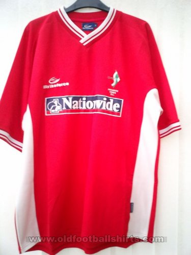 Swindon Town Home football shirt 2003 - 2004