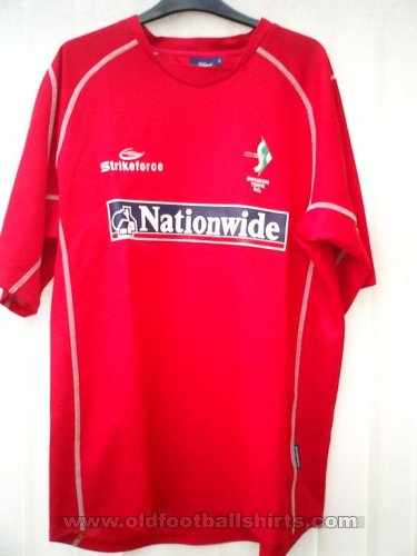 Swindon Town Thuis  voetbalshirt  2004 - 2005