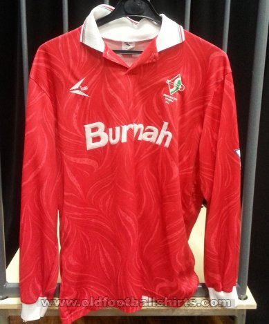 Swindon Town Home baju bolasepak 1993 - 1995