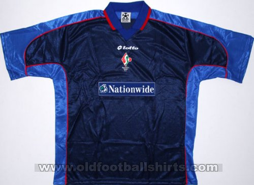 Swindon Town Away baju bolasepak 1999 - 2000