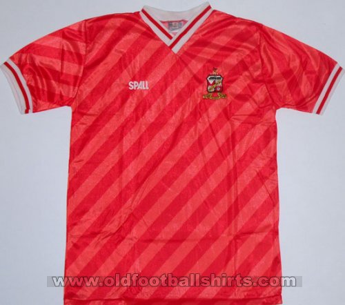 Swindon Town Home football shirt 1986 - 1987