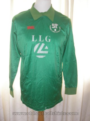 Swindon Town Goalkeeper Fußball-Trikots 1985 - 1986