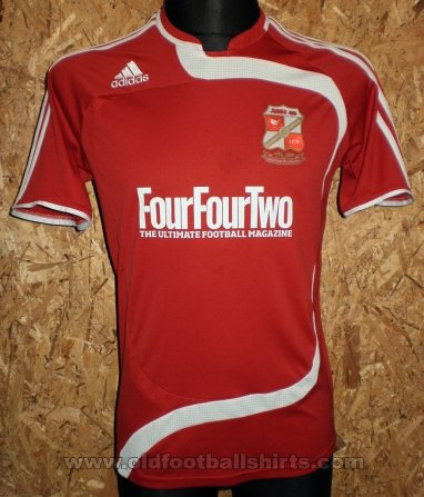 Swindon Town Home baju bolasepak 2009 - 2010
