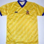 Third football shirt 1986 - 1987