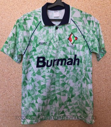 Swindon Town Away baju bolasepak 1991 - 1992
