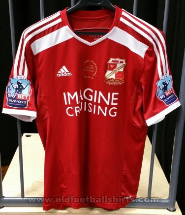 Swindon Town Home baju bolasepak 2014 - 2015