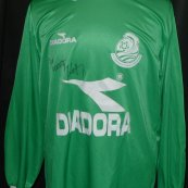 Goalkeeper football shirt 2000 - 2001