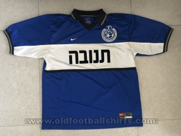 Hapoel Petach-Tikva Third football shirt 1999 - 2000
