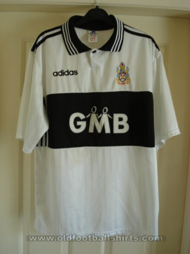 Fulham Thuis  voetbalshirt  1997 - 1998