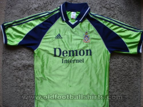 Fulham Away football shirt 1999 - 2000