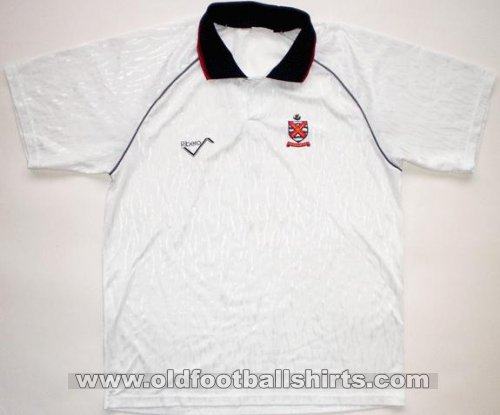 Fulham Local Camiseta de Fútbol 1991 - 1992