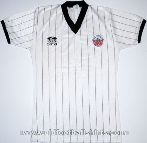 Fulham Local Camiseta de Fútbol 1983 - 1984