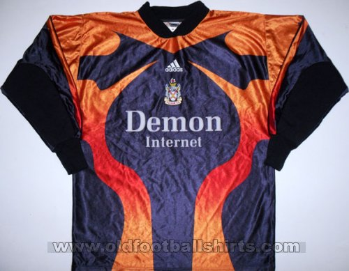 Fulham Goalkeeper football shirt 1999 - 2000