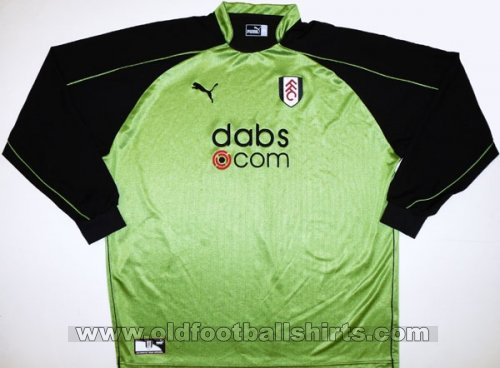 Fulham Goalkeeper football shirt 2003 - 2005