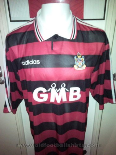 Fulham Away football shirt 1997 - 1998