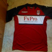 Fulham Away football shirt 2010 - 2011 sponsored by FxPro