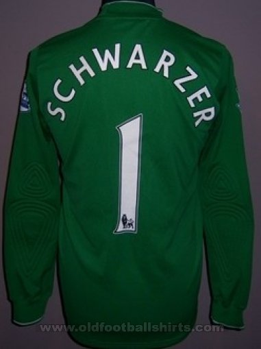 Fulham Goalkeeper football shirt 2009 - 2010