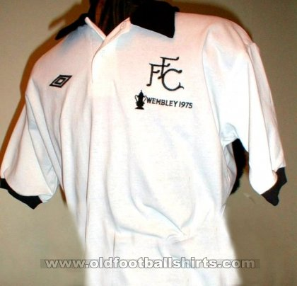 Fulham Thuis  voetbalshirt  1975 - 1977