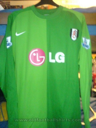 Fulham Goalkeeper football shirt 2007 - 2008