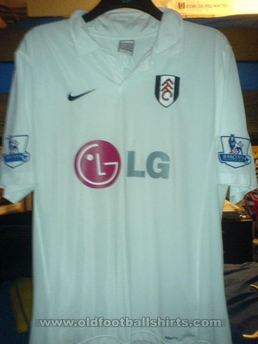 Fulham Home football shirt 2007 - 2008