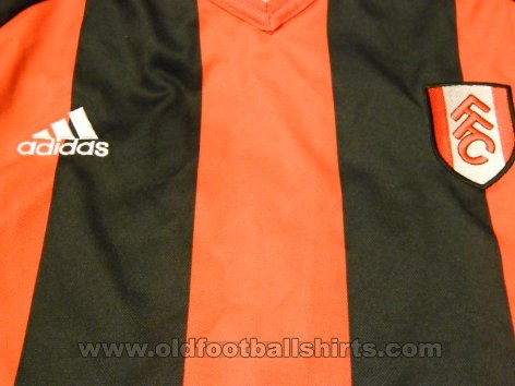 Fulham Away football shirt 2001 - 2002