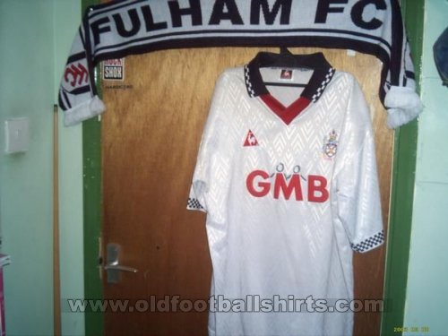 Fulham Thuis  voetbalshirt  1995 - 1997
