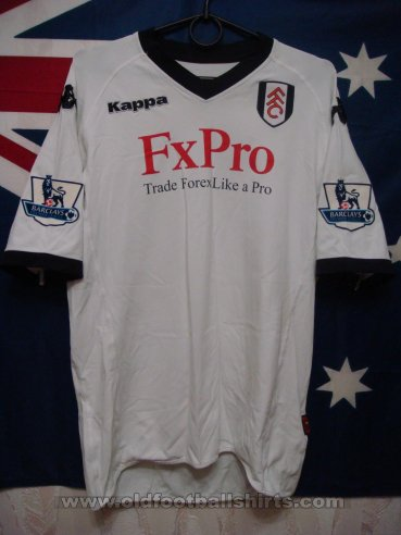 Fulham Thuis  voetbalshirt  2010 - 2011