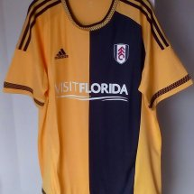 Fulham Third football shirt 2015 - 2017 sponsored by Visit Florida