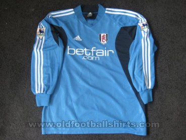 Fulham Goalkeeper football shirt 2003 - 2004