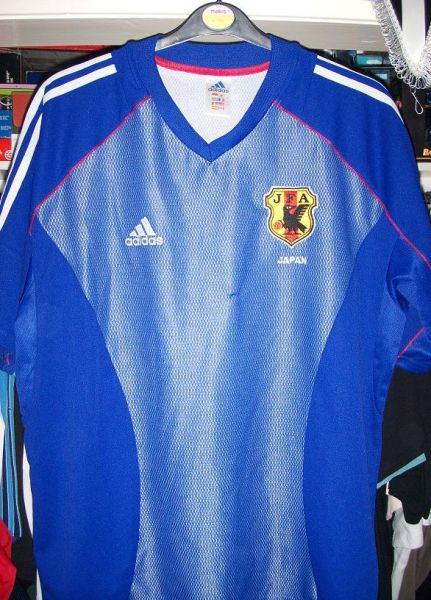 1566ac8ebf Japan Home maglia di calcio 2002 ...