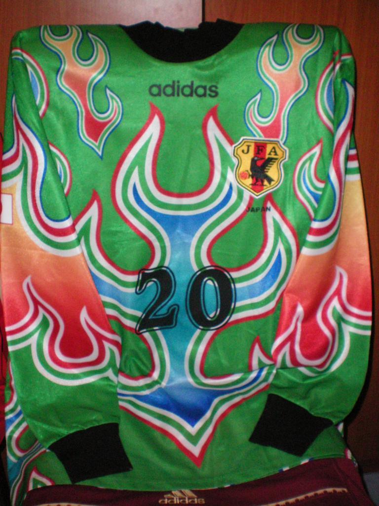 vintage  jersey 1998 FIFA World Cup Japan National Goalkeeper Kawaguchi
