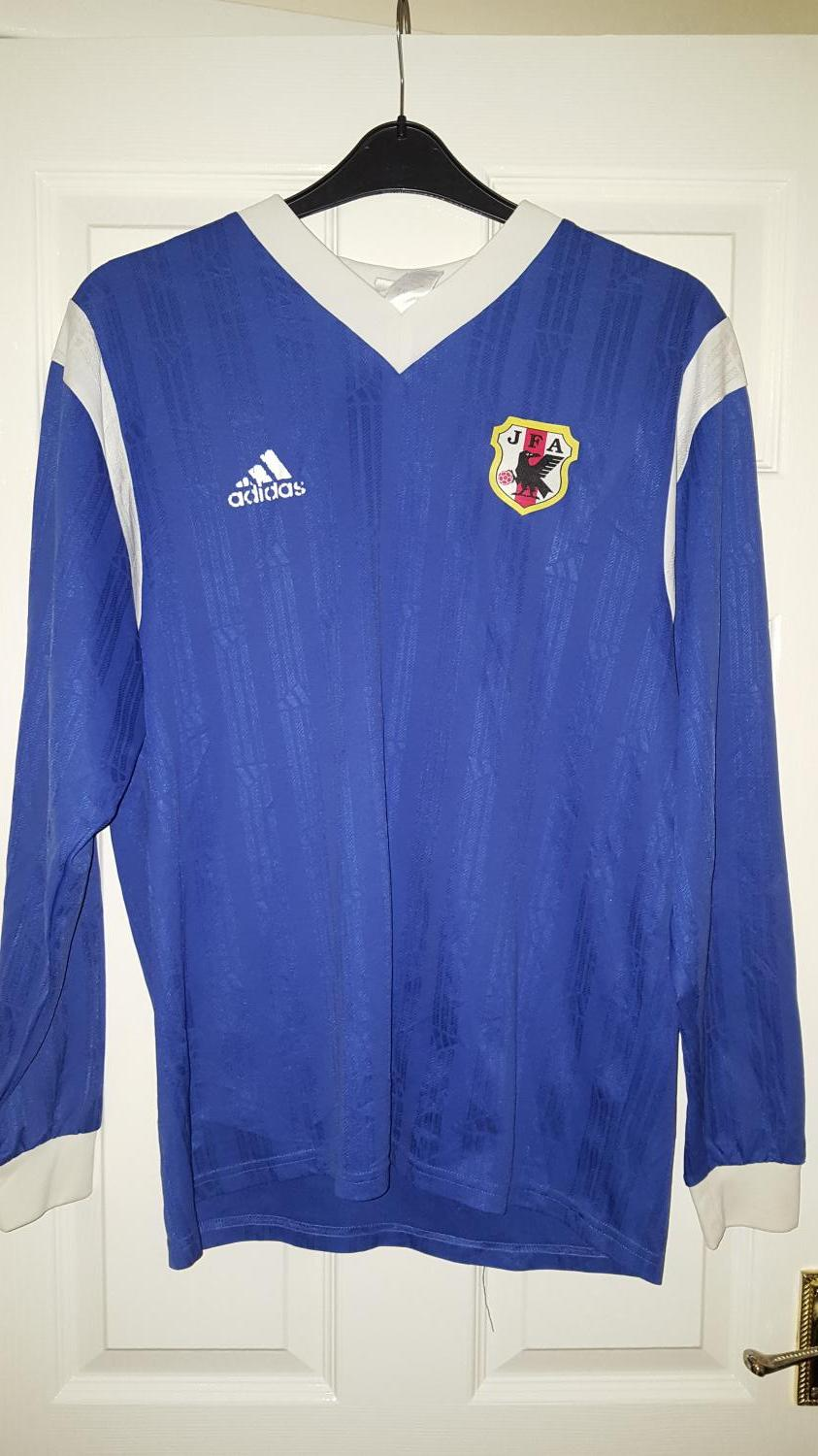 56c971a0980 Japan Home maglia di calcio (unknown year).
