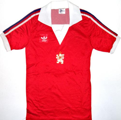 Czechoslovakia Home Maillot de foot 1980. 84340e83f